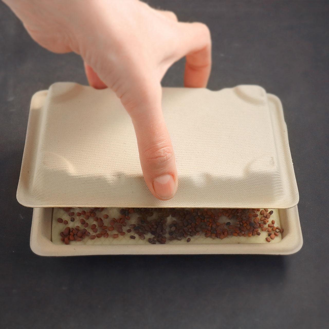 Home grow kit - close lid