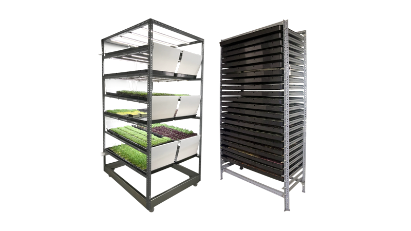 Instagreen cultivator and germinator systems for cost-effective microgreen cultivation