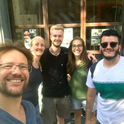 Foto del equipo en verano 2019